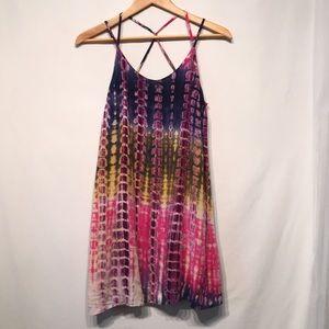 Loveriche Tie-Dye Dress Size Small Like New